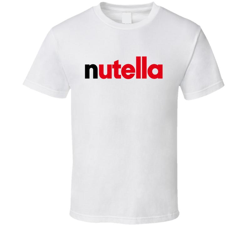 Nutella Tee Funny Halloween Costume T Shirt