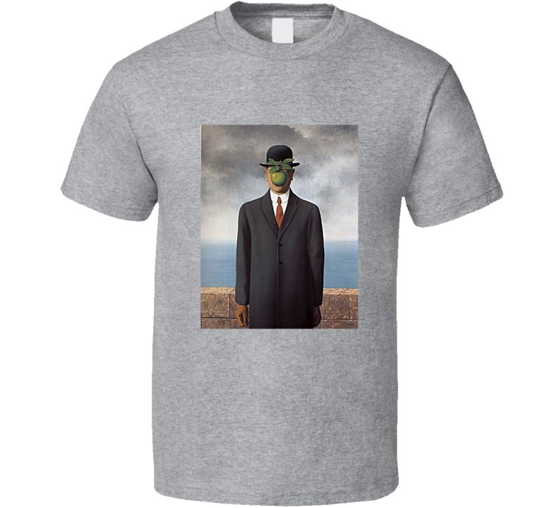 The Son Of Man Tee Cool Famous Painting Art Lover T Shirt