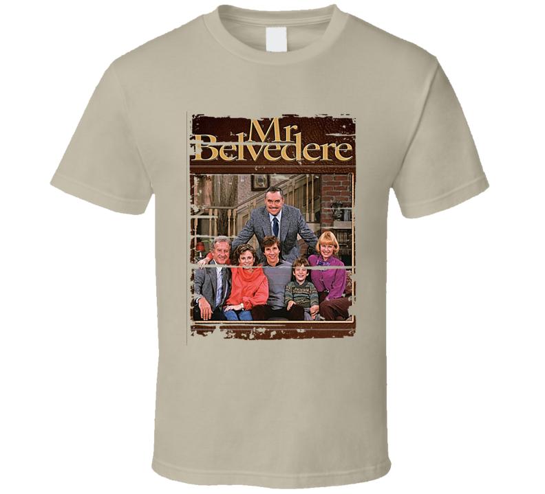 Mr Belvedere Tee Retro TV Show Cool Vintage T Shirt
