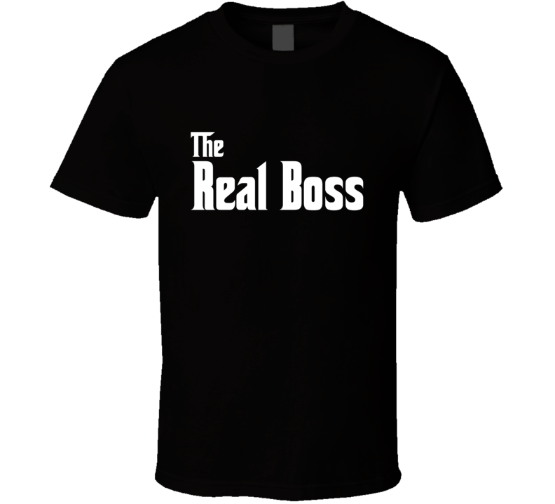 The Real Boss Tee Funny Relationship Goals Couples T Shirt