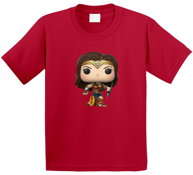 Wonder Woman Tee Cool Kids Movie Lover T Shirt