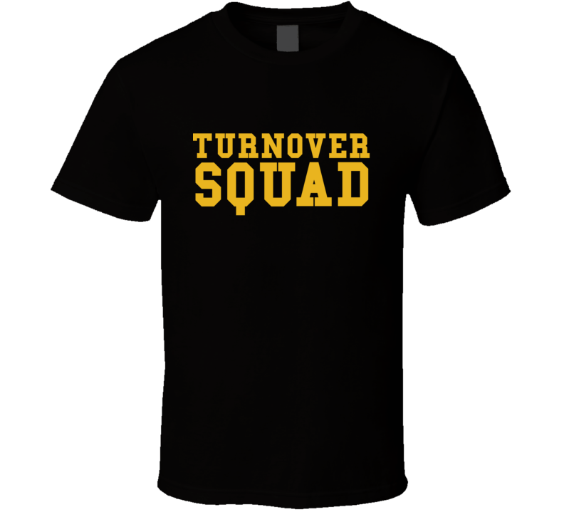 Turnover Squad Tee Pittsburgh Football Cool T Shirt