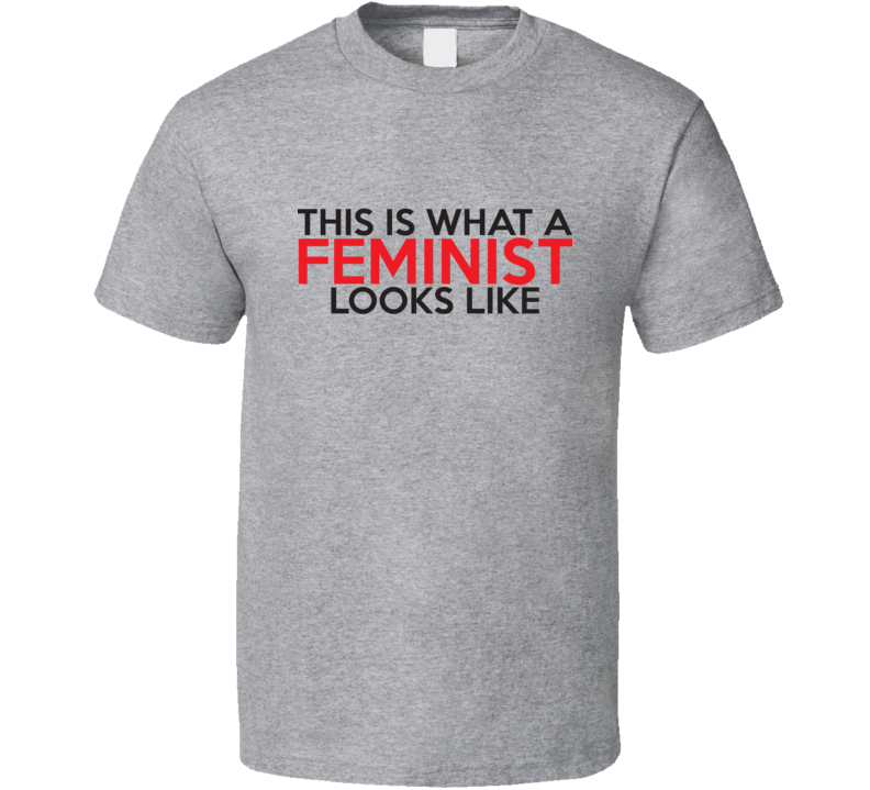 This Is What A Feminist Looks Like Cool Feminist Women's Rights T Shirt