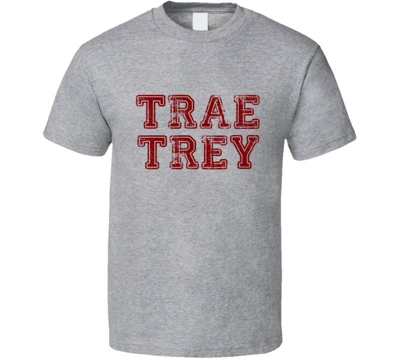 Trae Trey Tee Trae Young 3 Pointer Oklahoma Basketball Fan T Shirt