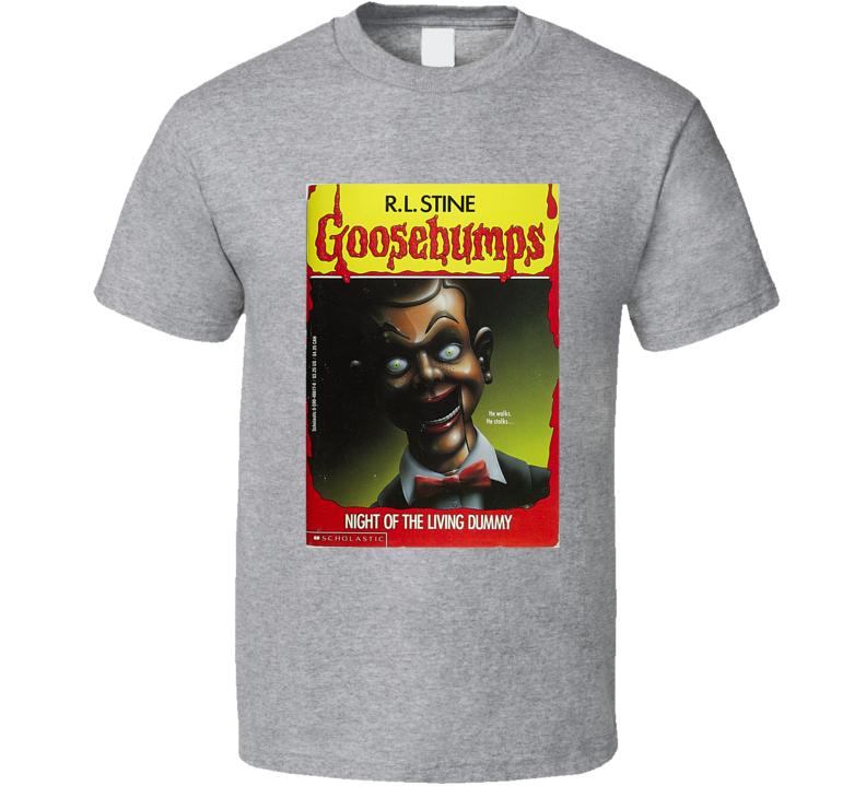 Goosebumps Book Cover Tee Cool Books Halloween Geek T Shirt