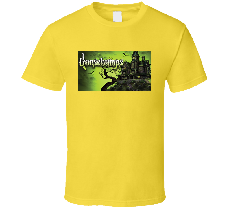Goosebumps Book Cover Tee Cool Retro T Shirt