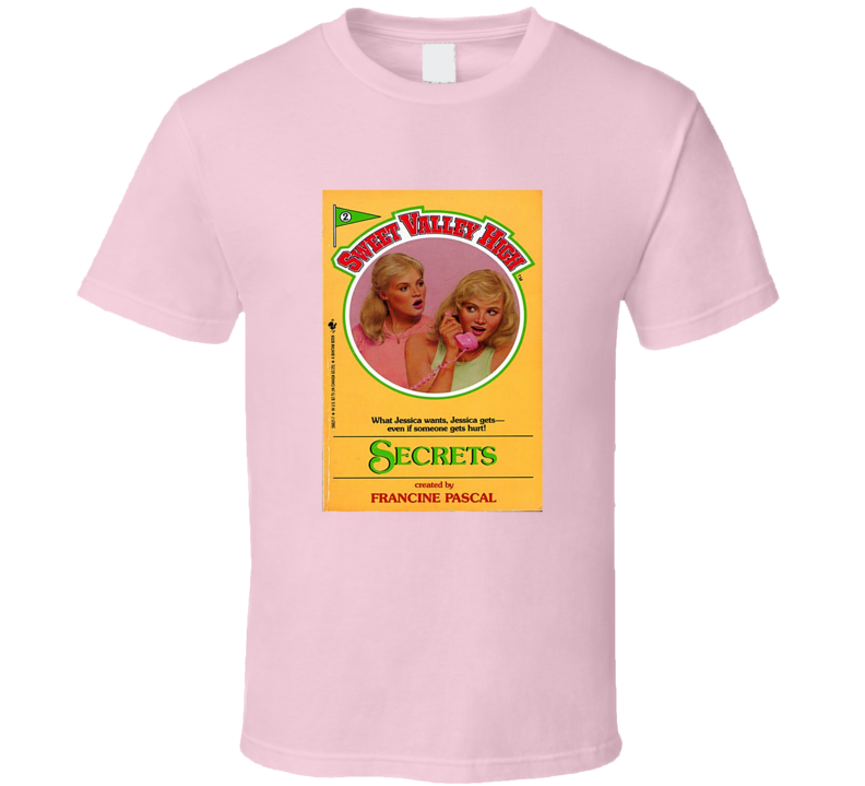 Sweet Valley High Book Cover Tee Cool Retro T Shirt