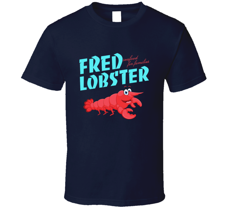 Fred Lobster Tee Cool Henry Danger TV Show Kids Series T Shirt