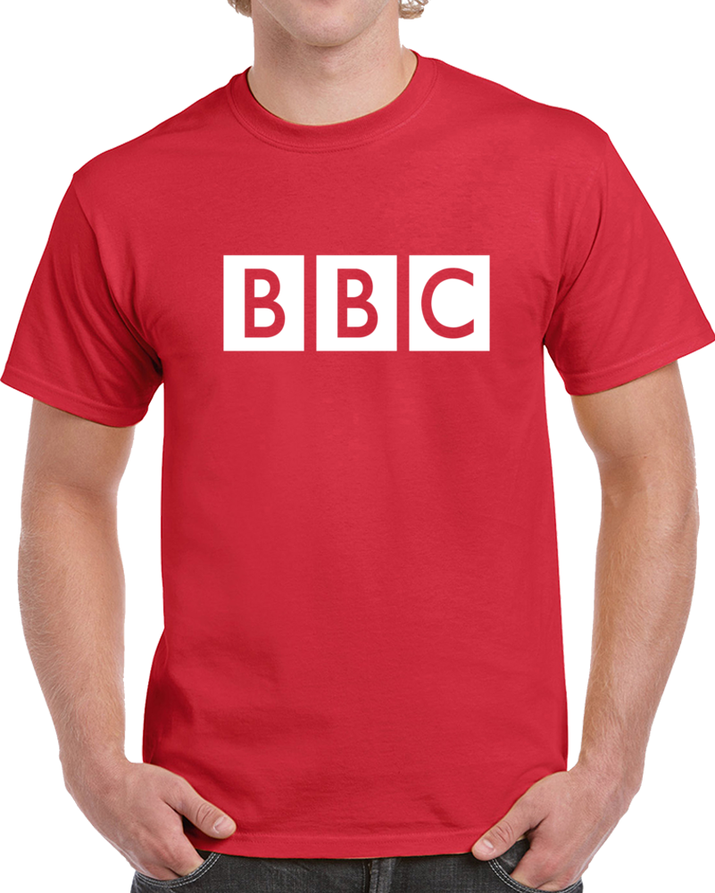 BBC News Logo Tee British Broadcasting Company T Shirt
