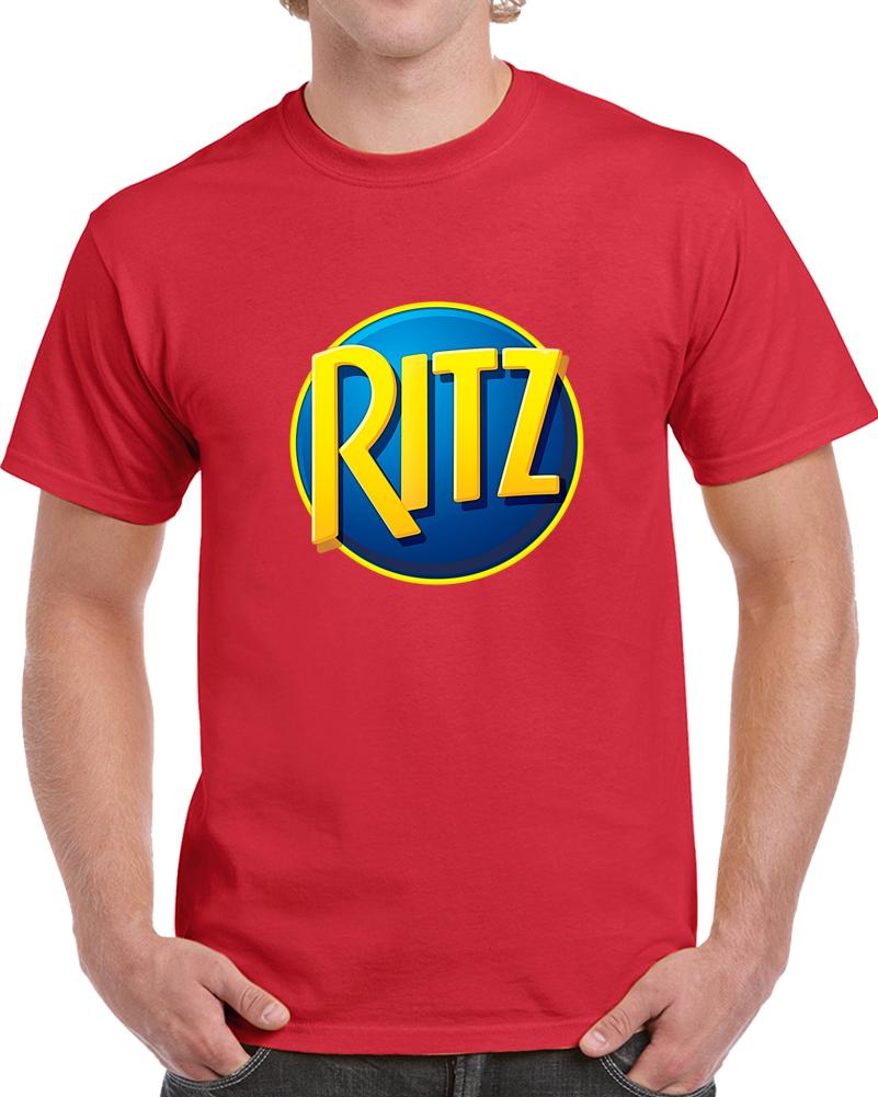 Ritz Crackers Logo Tee Cool Halloween Costume T Shirt