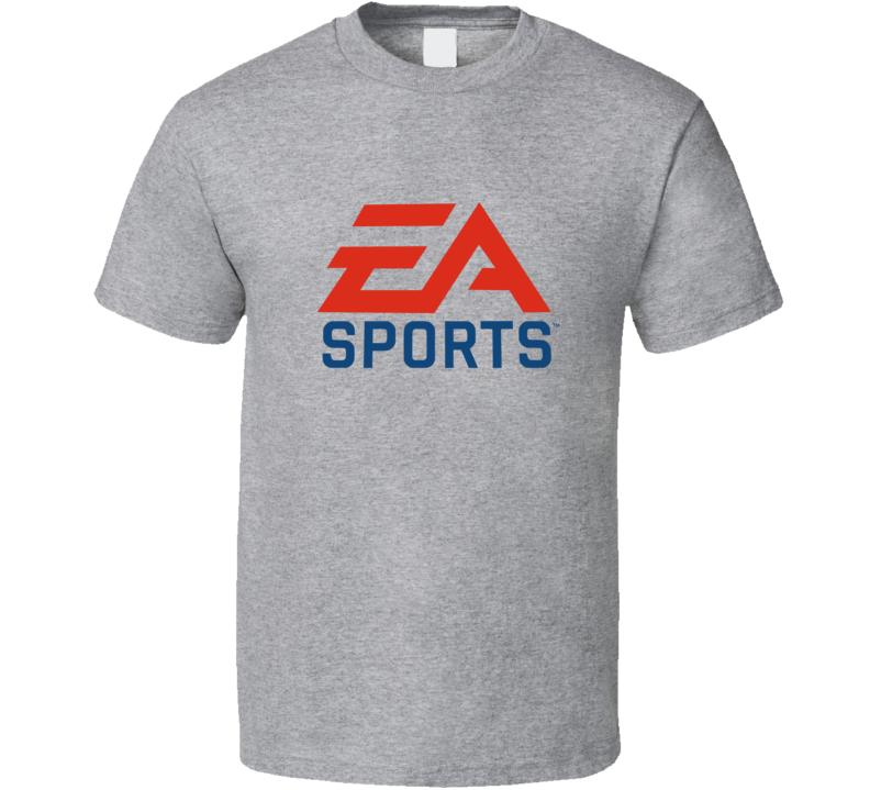 EA Sports Logo Tee Cool Video Games Gaming Fan T Shirt