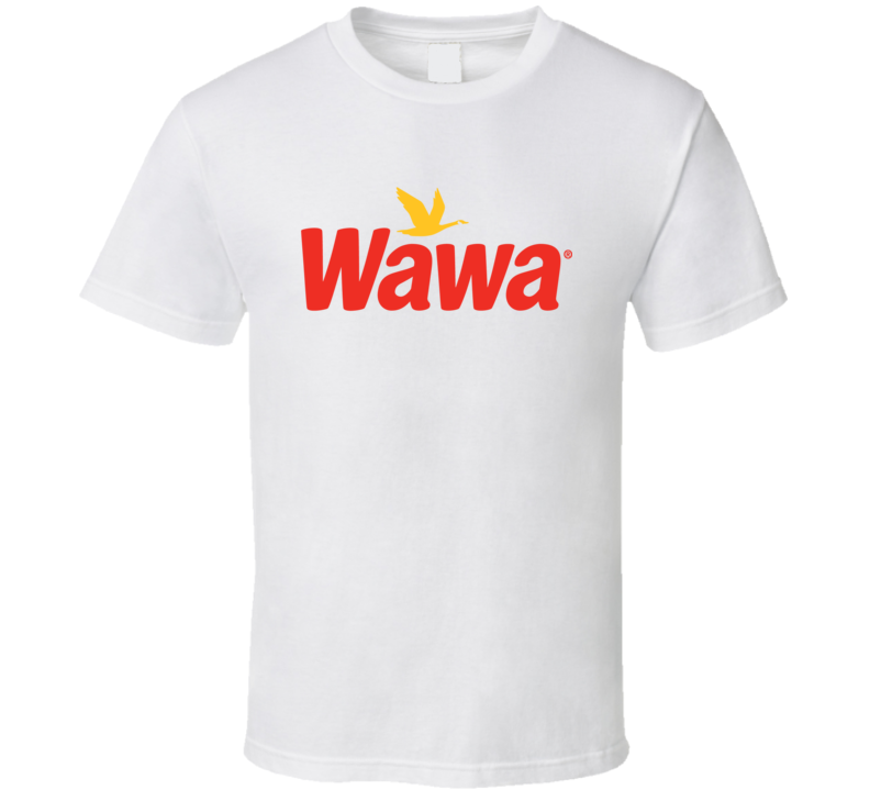 Wawa Logo Tee Cool Convnience Store Gas Station T Shirt