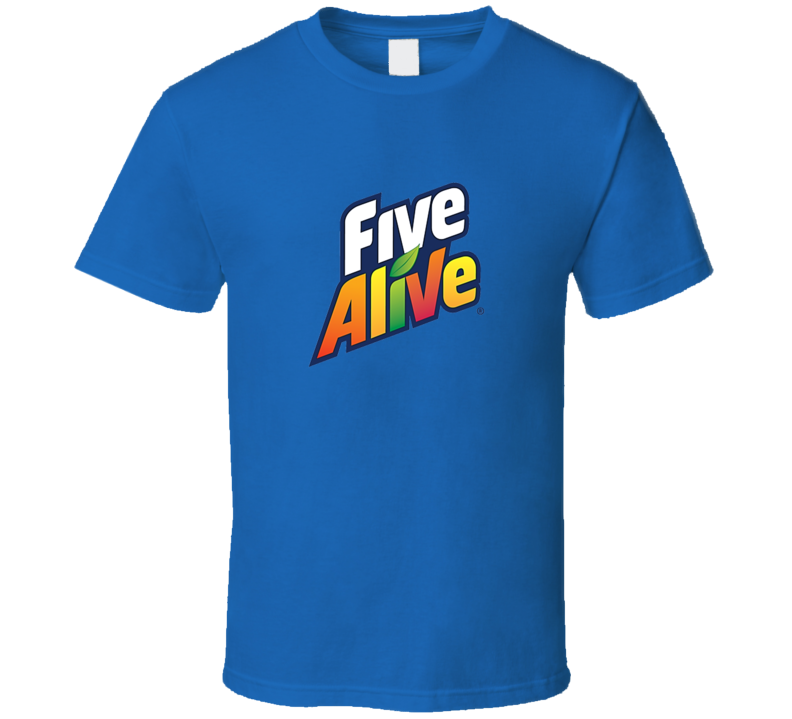 Five Alive Logo Tee Cool Fruit Juice T Shirt