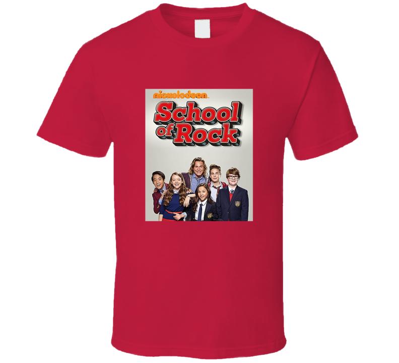 School Of Rock Tee Cool Kids TV Show Series T Shirt