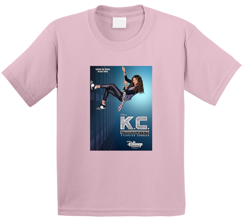 K.C. Undercover Tee Cool Kids TV Show Series T Shirt