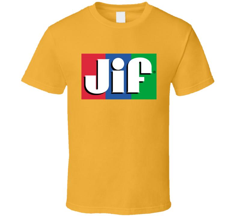 Jif Peanut Butter Tee Cool Halloween Costume T Shirt