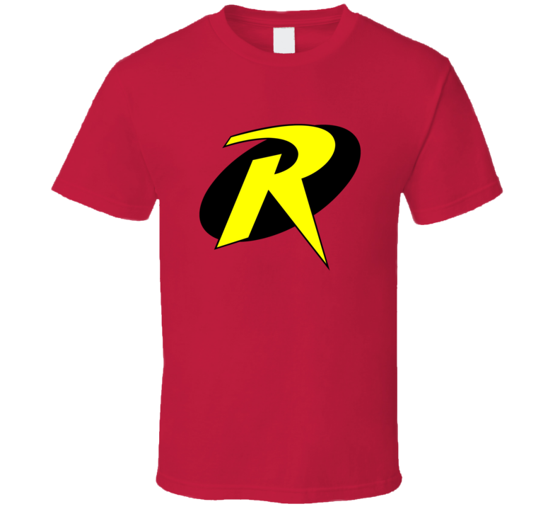 Robin Logo Tee Cool Superhero Halloween Costume T Shirt