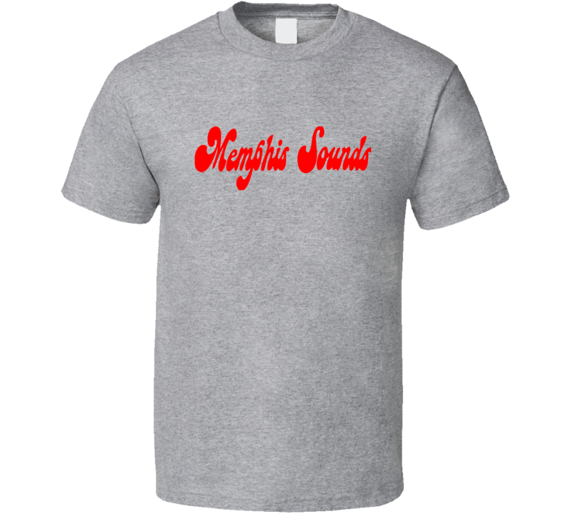 Memphis Sounds Logo Tee Cool ABA Basketball Retro T Shirt