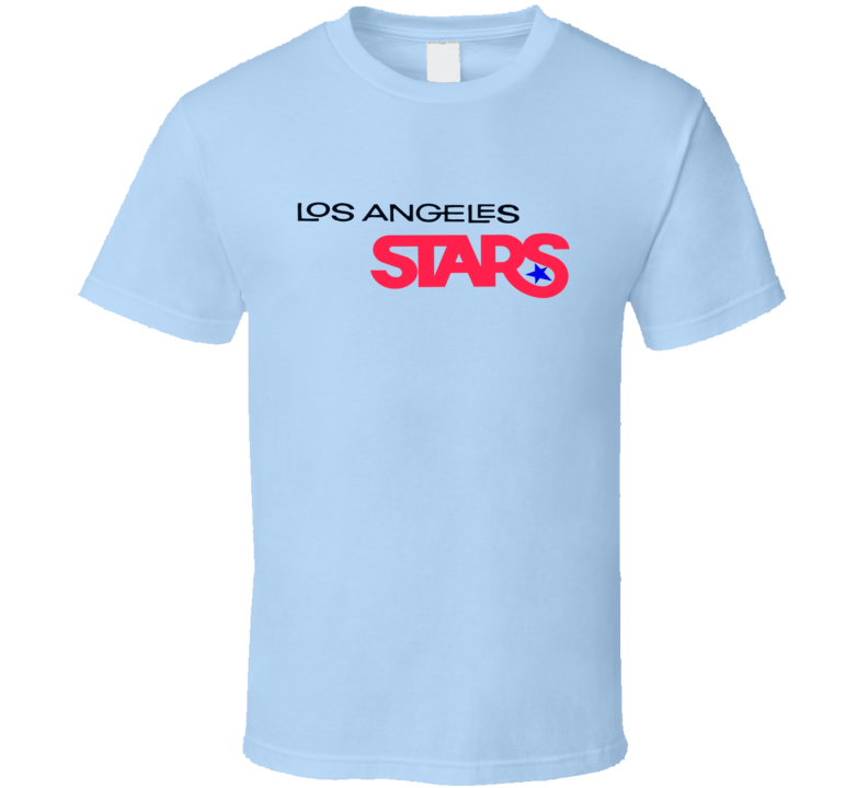 Los Angeles Stars Logo Tee Cool ABA Basketball Retro T Shirt