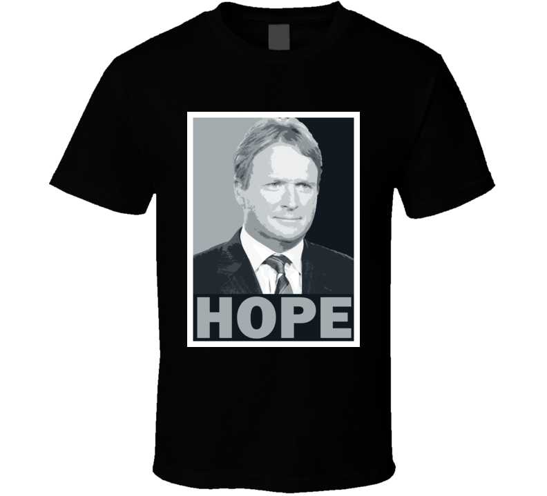 Jon Gruden Coach Tee Obama Hope Style Oakland Football T Shirt