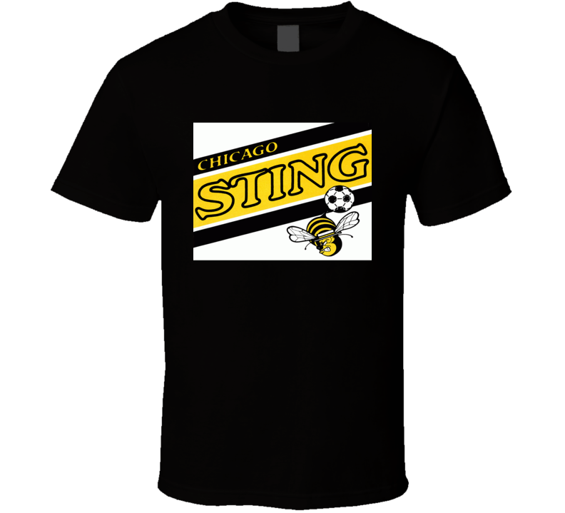 Chicago Sting Logo Tee Retro North American Soccer League T Shirt