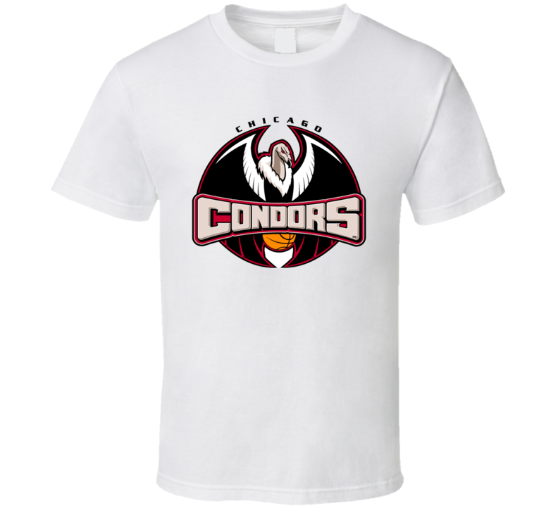 Chicago Condors ABL Tee Retro American Basketball League T Shirt