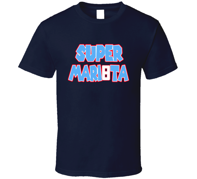 Super Mariota Tee Marcus Mariota Super Mario Tennessee Football T Shirt