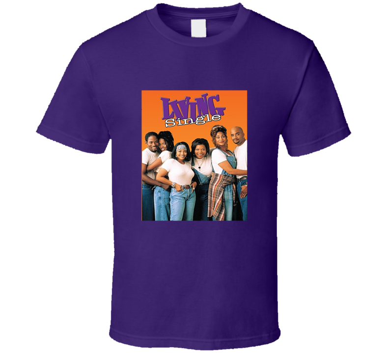 Living Single Poster Tee Cool TV Show Series Fan Tshirt
