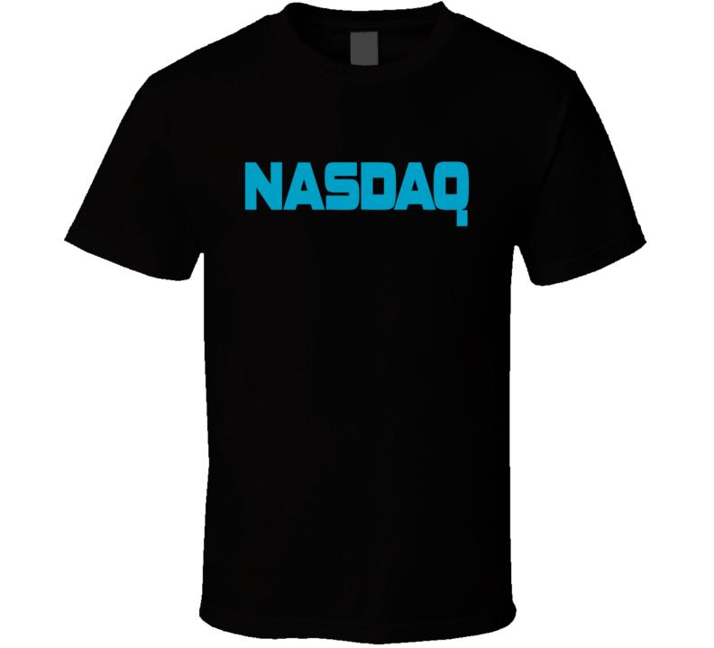 Nasdaq Stock Exchange Logo Tee Cool Stocks Money T Shirt