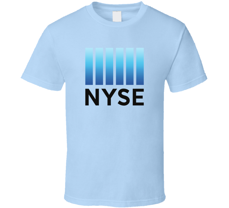 NYSE New York Stock Exchange Logo Tee Cool Stocks Money T Shirt