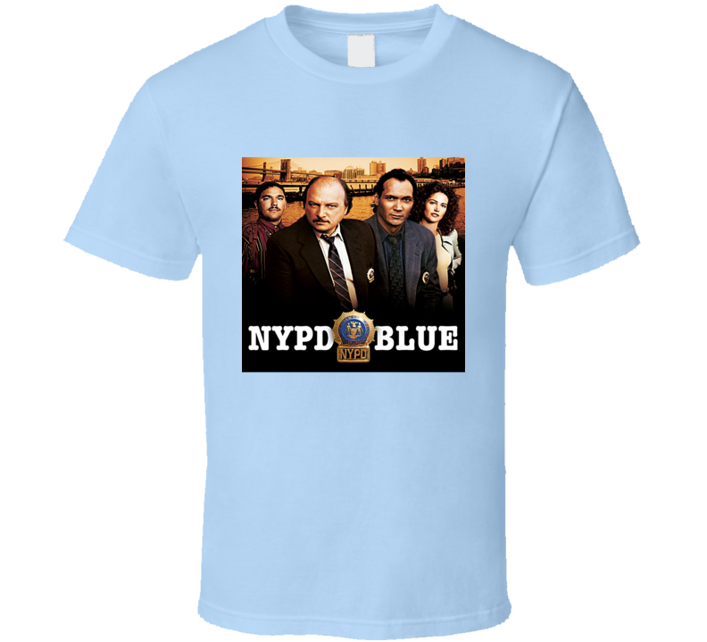 NYPD Blue Logo Tee Cool TV Show Series T Shirt