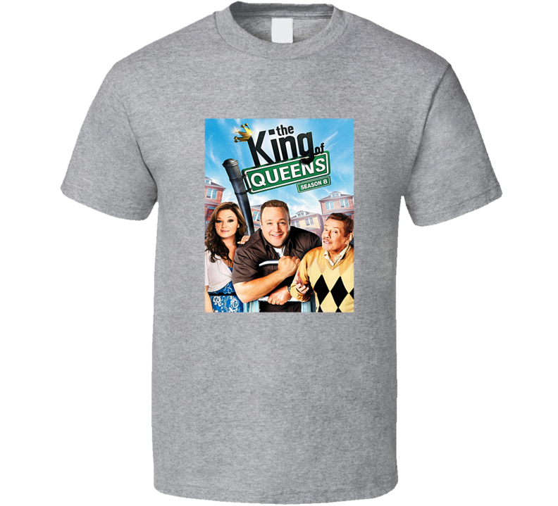 The King Of Queens Poster Tee TV Show Fan T Shirt