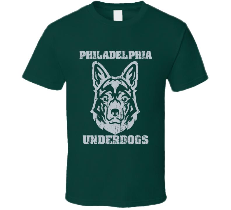Philadelphia Underdogs Tee Cool Football Playoff T Shirt