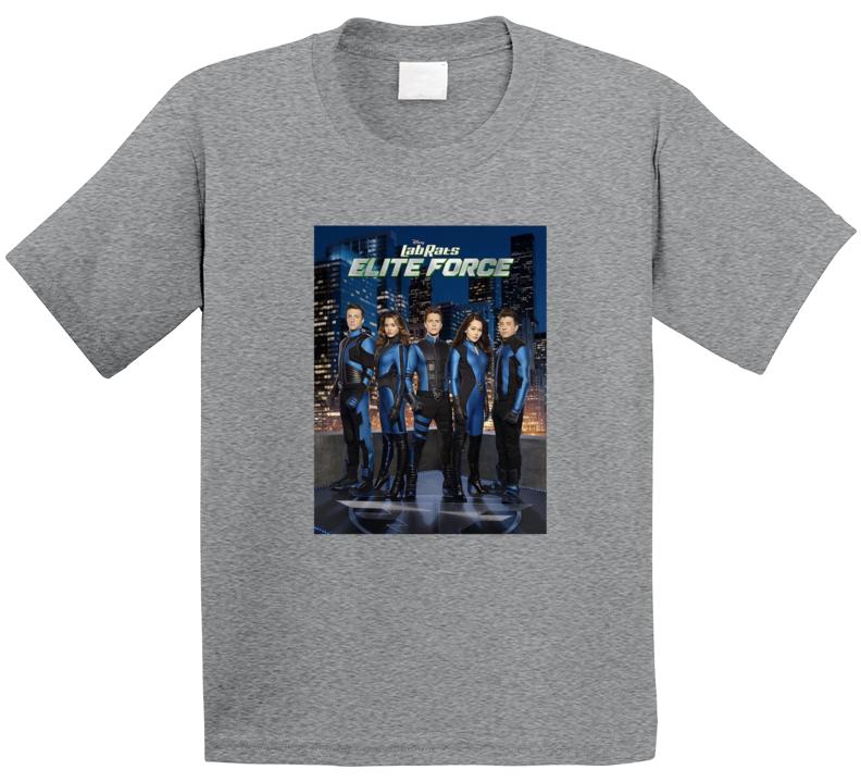Lab Rats Elite Force Tee Cool Kids TV Show T Shirt