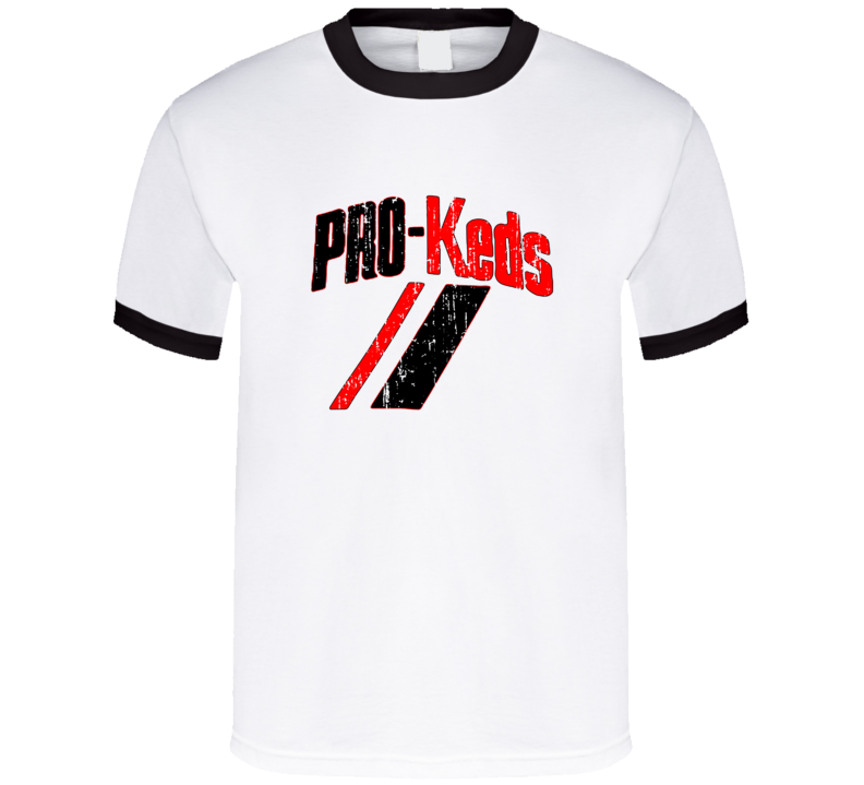 Pro Keds Logo Tee Cool Retro Hip Hop Shoes T Shirt