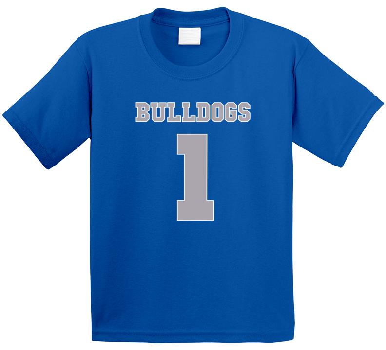 Bulldogs 1 Jersey Tee Cool Bella And The Bulldogs Kids TV Show T Shirt