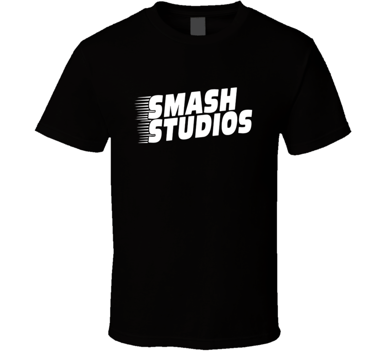 Smash Studios Logo Tee Cool Video Games Trendy T Shirt