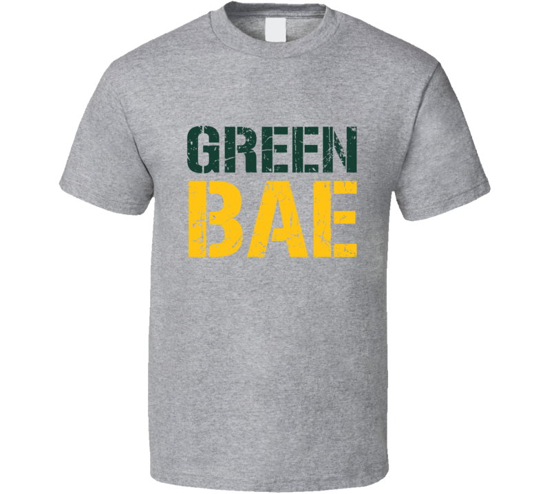Green Bae Tee Funny Green Bay Football Fan T Shirt
