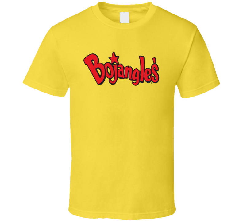 Bojangles Restaurant Logo Tee Cool Fast Food T Shirt