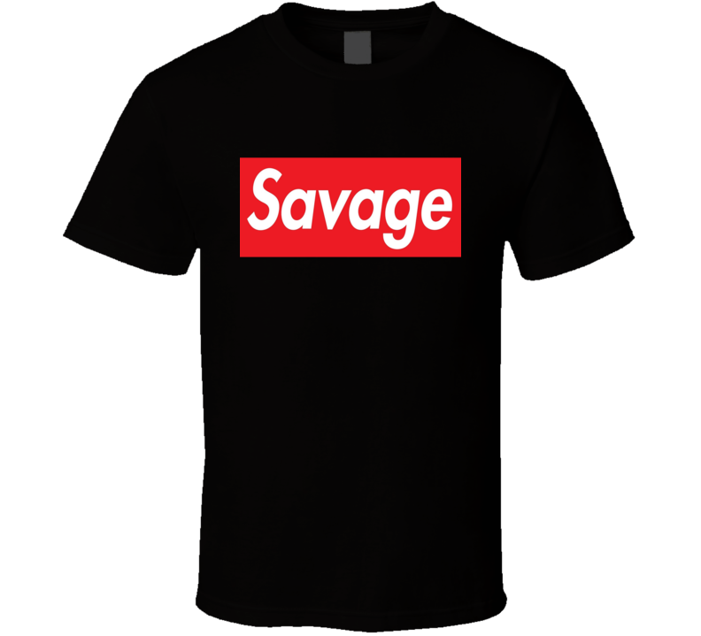 Savage Parody Tee Cool Jersey Shore TV Show Trendy T Shirt
