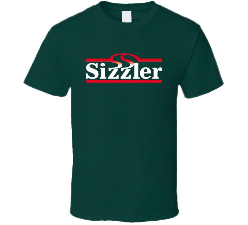 Sizzler Logo Tee Cool Restaurant Logo T Shirt