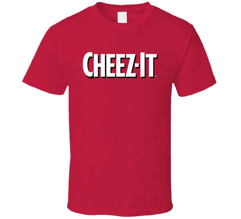 Cheez It Logo Tee Cool Cracker Box Halloween Costume T Shirt