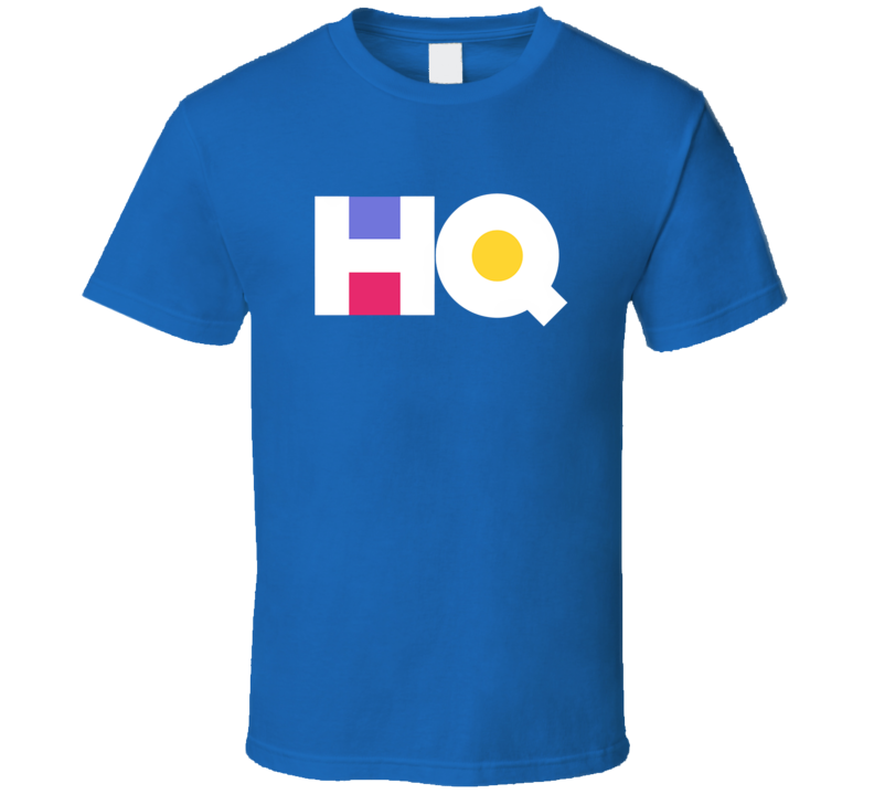 HQ Logo Tee Cool Interactive Gaming App Gamer T Shirt