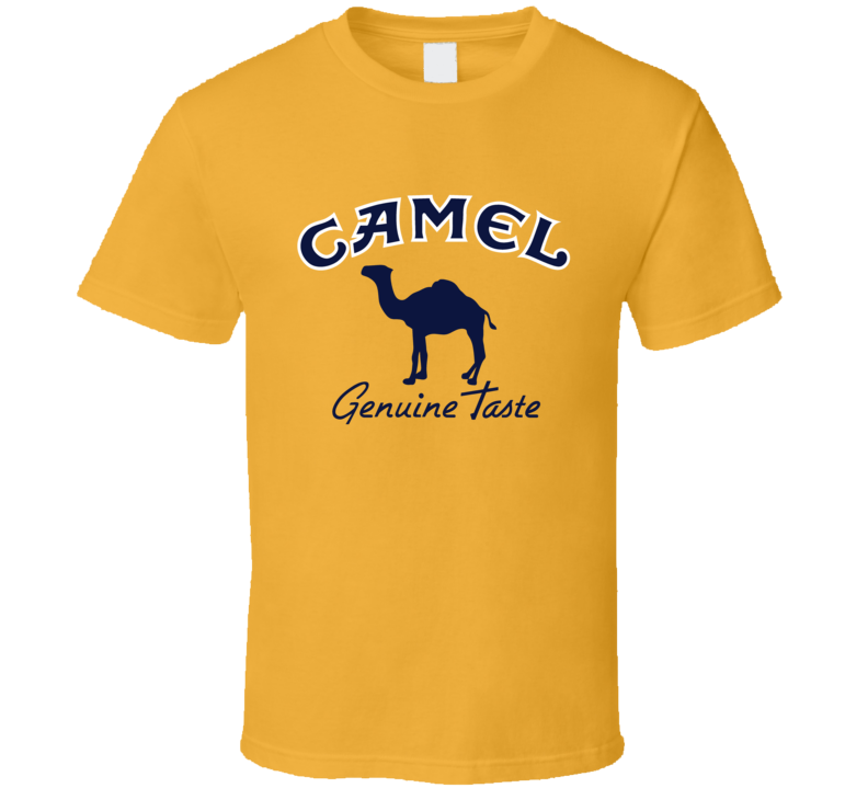 Camel Cigarette Logo Tee Cool Trendy T Shirt