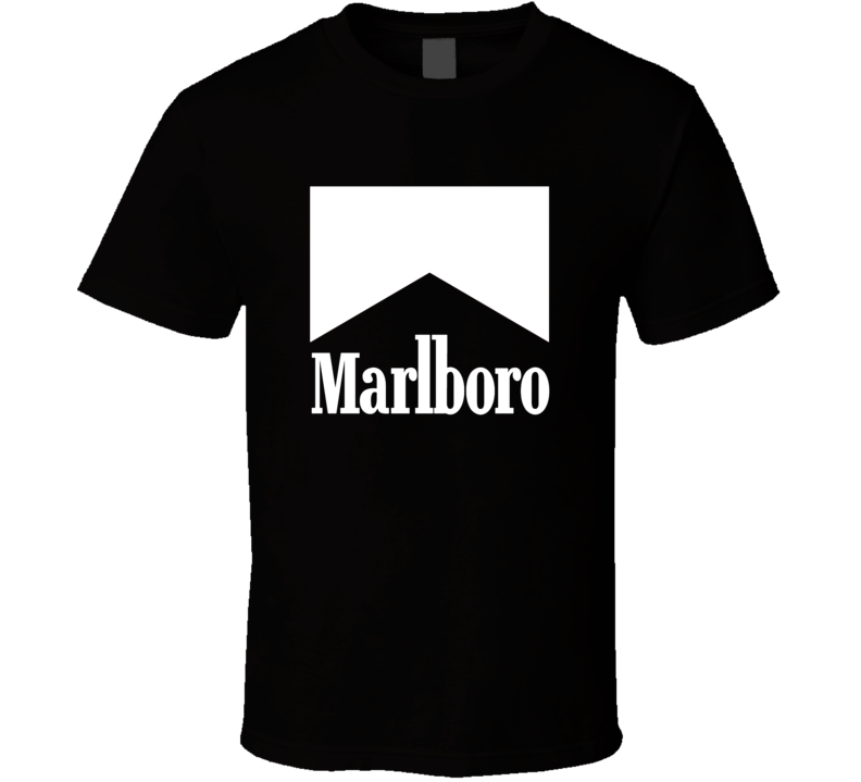Marlboro Cigarette Logo Tee Cool Trendy T Shirt