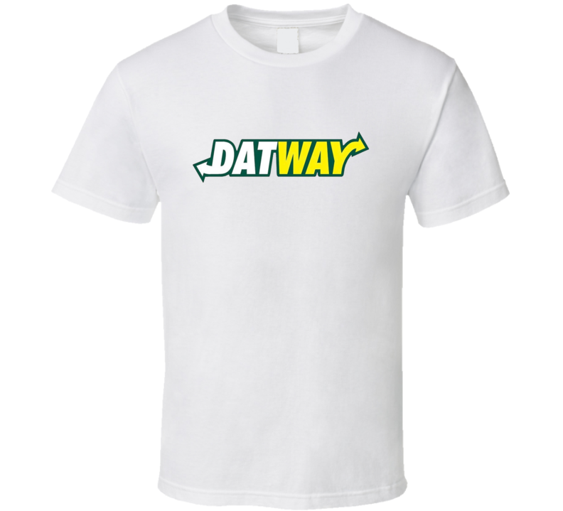 Dat Way Subway Parody Tee Hip Hop Music Fan T Shirt