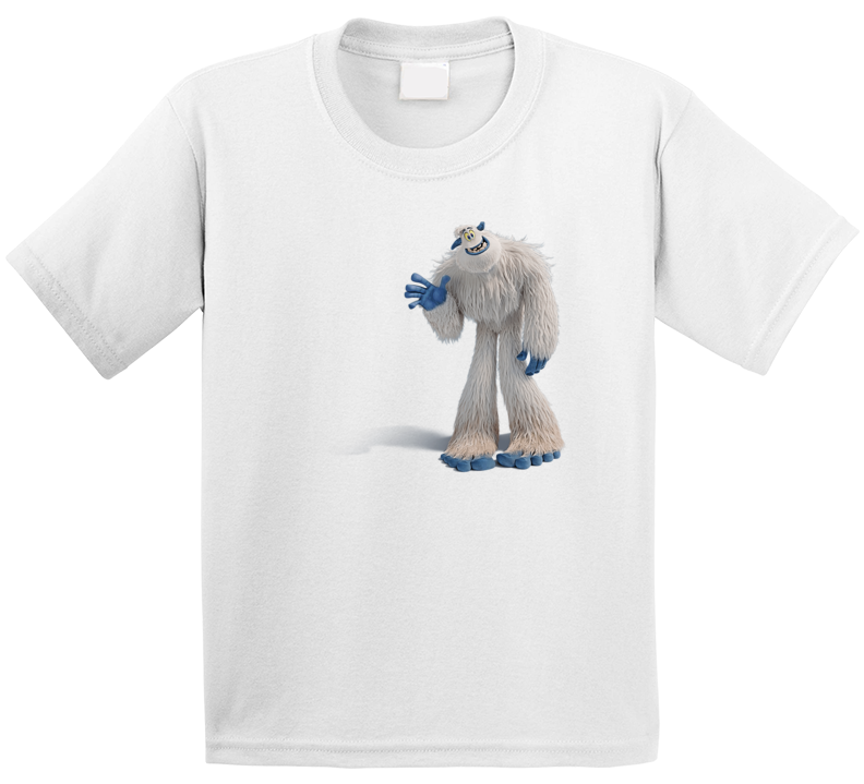 Migo Character Smallfoot Movie Tee Cool Kids T Shirt