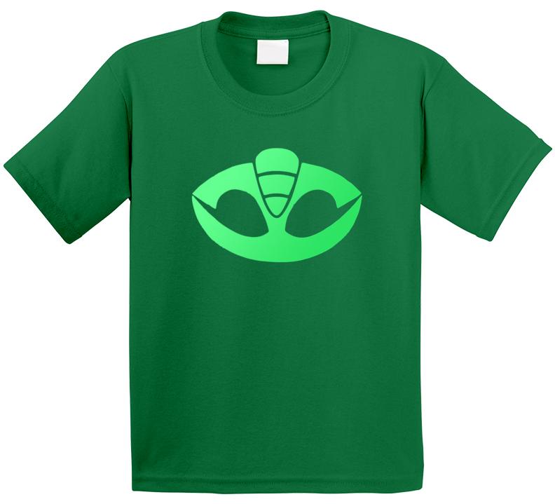 PJ Masks Greg Gekko Halloween Costume Tee TV Show Fan T Shirt