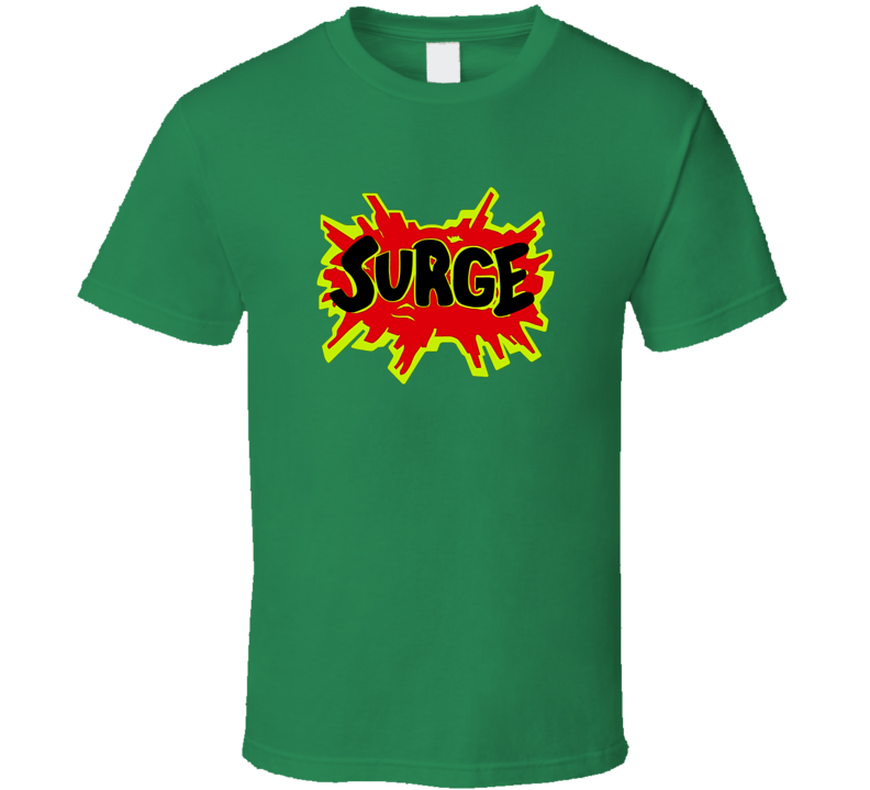 Surge Tee Cool Cola Soda Pop Drink T Shirt