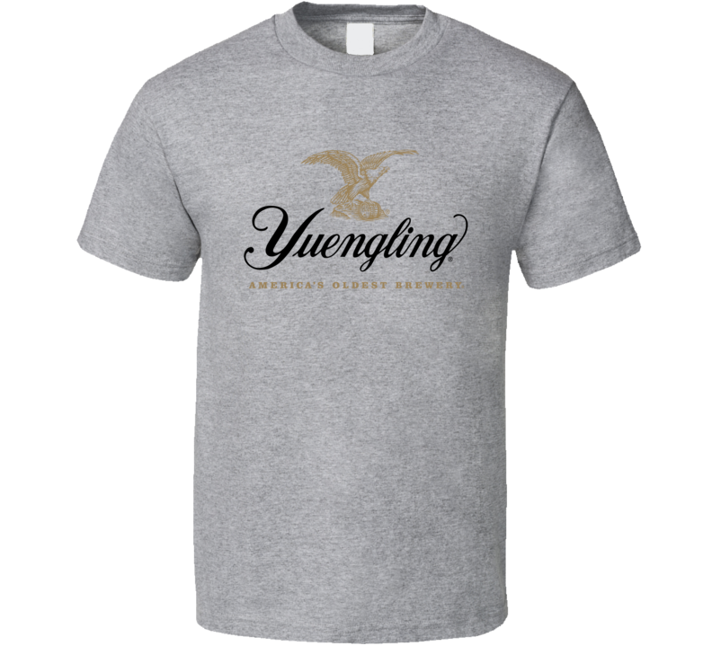 Yuengling Tee Cool Beer Drinking Brewery T Shirt